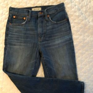 Madewell Perfect Vintage Crop Jean - size 25